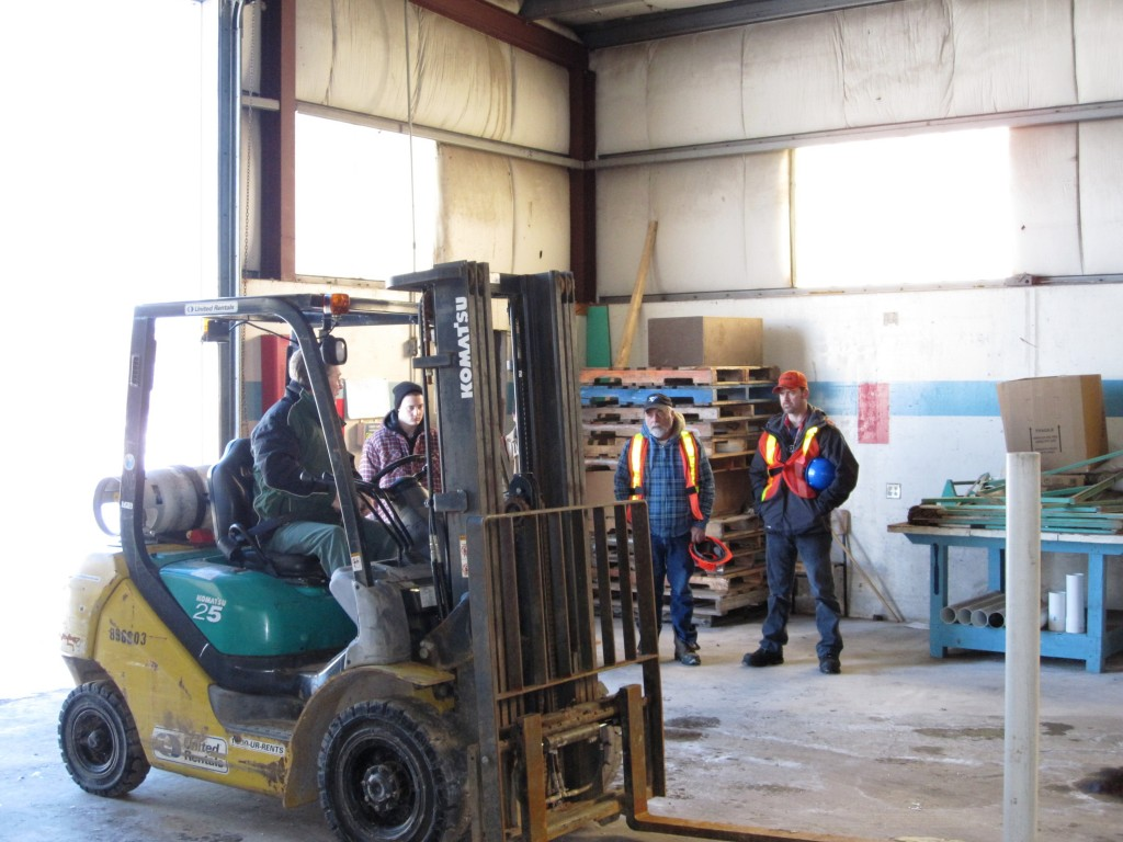 Fork Lift Operator : Forklift operator commercial safety college