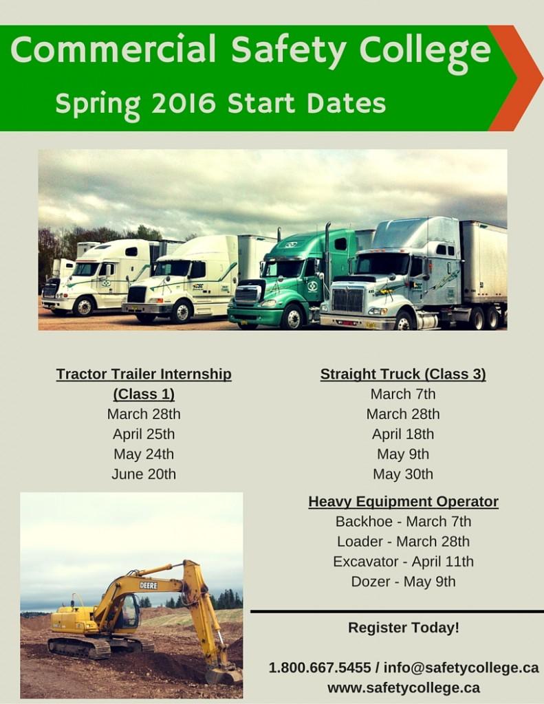 Spring start date