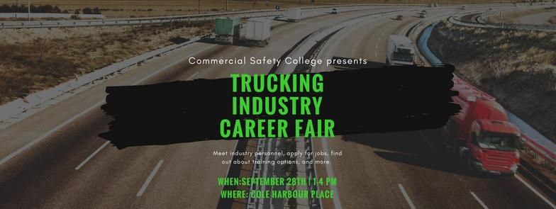 Trucking Industry Career Fair - Facebook Cover